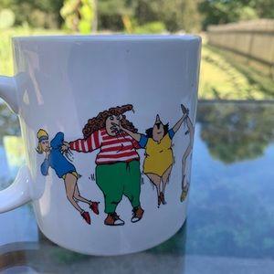 Vintage Kitchen - Funny vintage aerobics mug